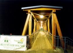 Holzbrücke Volksbankpassage Waidhofen