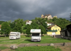 Wohnmobil-und Caravan-stellplatz in Gars/Kamp näheres unter www.caravan-gars.at