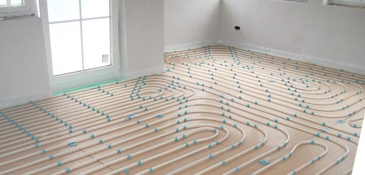 Fußbodenheizung VA 10